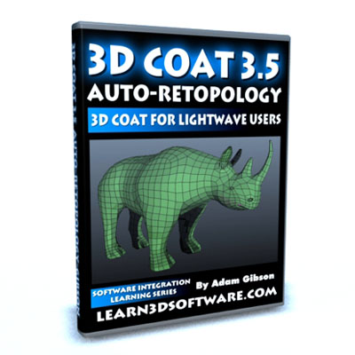 3D Coat 3.5 Auto-Retopology for Lightwave Users