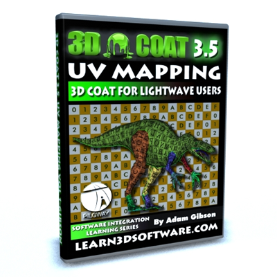 3D Coat 3.5 UV Mapping for Lightwave Users
