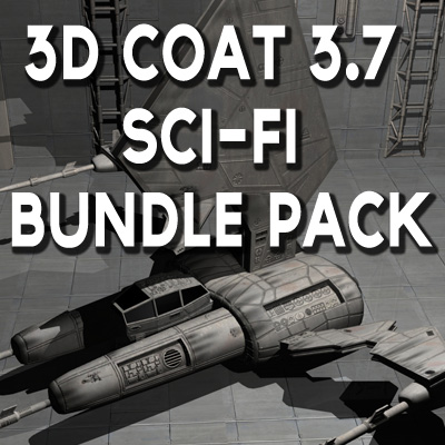 3D Coat 3.7 Sci-Fi Bundle Pack