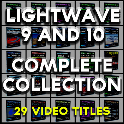 Lightwave Version 9 and 10 Complete Collection