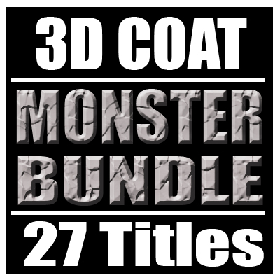 3D Coat Monster Bundle (27 Titles)  [AG]