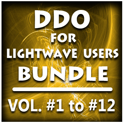 DDO for Lightwave Users- Bundle Pack (12 Volumes)- PRE-BUY Special