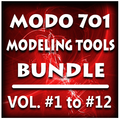 Modo 701 Modeling Tools Bundle (12 Volumes) -PRE-BUY Special