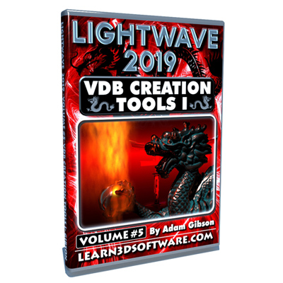 Lightwave 2019- Volume #5- VDB Creation Tools I- Basics
