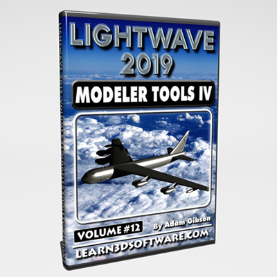 LightWave 2019- Volume #12- Modeler Tools IV